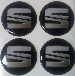 logo SEAT black new 5,5cm