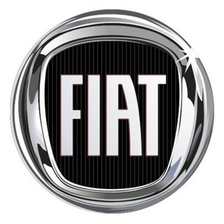 4CARS 3D CAR LOGO FIAT black